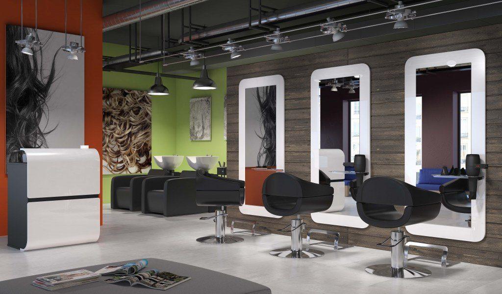 My Salon de coiffure : mobilier de coiffure