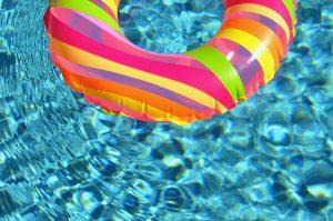 La piscine hors-sol enterrée