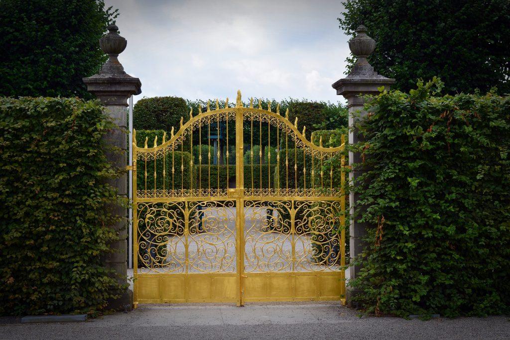 Matériau de portail