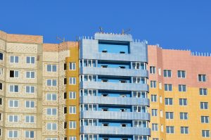 La façade de maison est la face extérieure des habitations